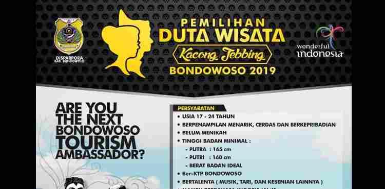 Pendaftaran Duta Wisata Kacong Jebbing Bondowoso