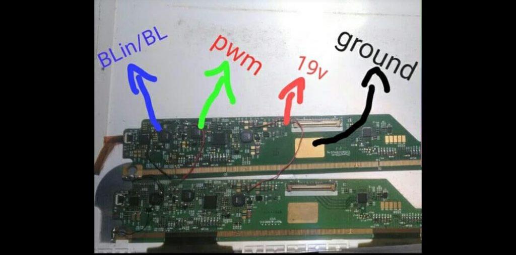 Jalur Lampu LED dan LCD Laptop Acer