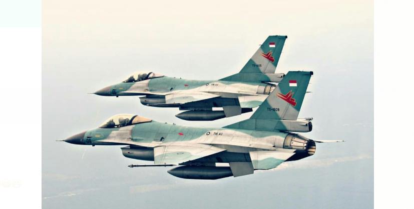 Pesawat Tempur Asing Di Hancurkan TNI AU di Natuna