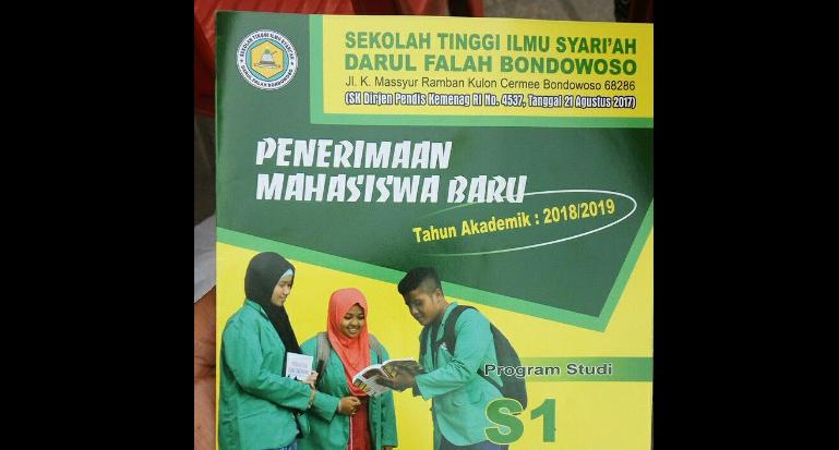 Pendaftaran Mahasiswa Baru STIS Darul Falah Cermee