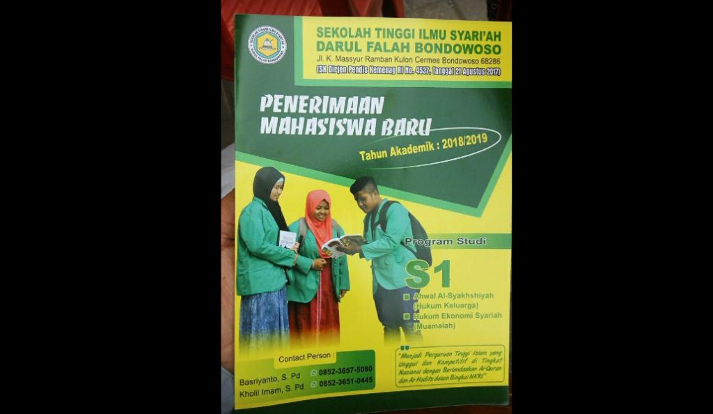 Penerimaan Mahasiswa Baru STIS Darul Falah Cermee