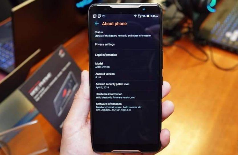 Cara Flash Asus Rog Phone dan Kendala Lainnya