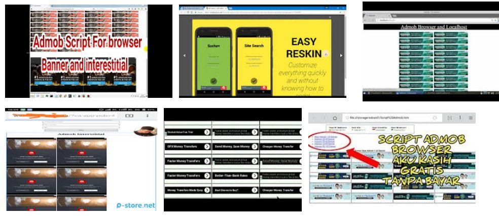 Script Admob Browser Auto Impression Gratis