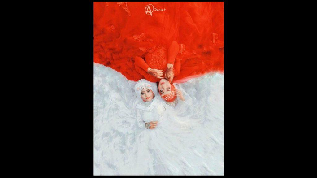Foto-foto Menarik dan Lucu Menyambut Hari Kemerdekaan Republik Indonesia