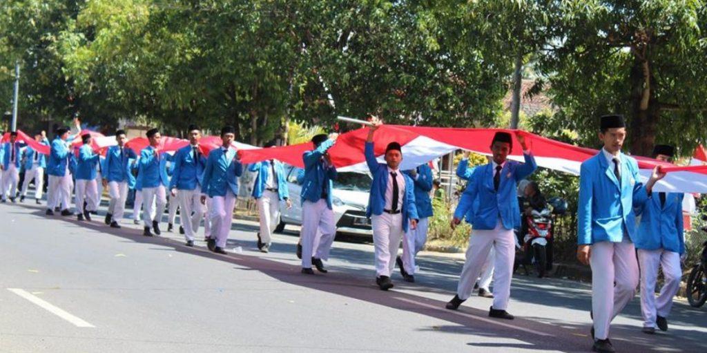 Bendera Terpanjang di Bondowoso