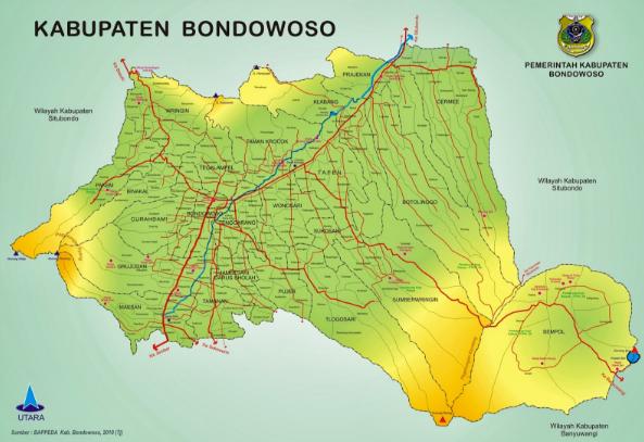 Nama Desa se Kabupaten Bondowoso