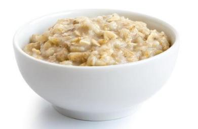 bubur oat susu