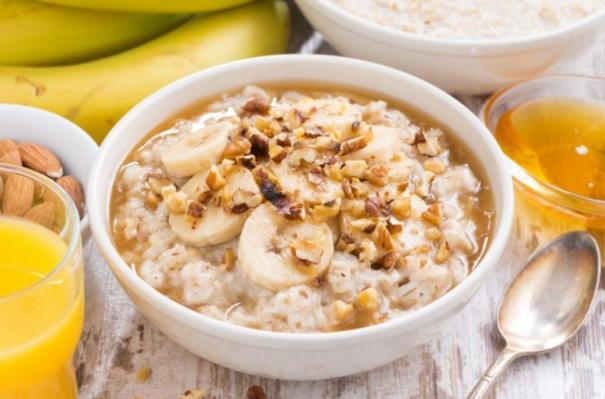 oatmeal dadih