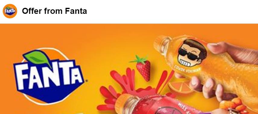 Cara Mendapatkan Minuman Fanta Gratis dari Alfamart