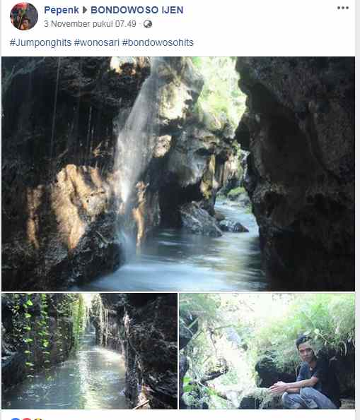 Sungai Leket Wonosari