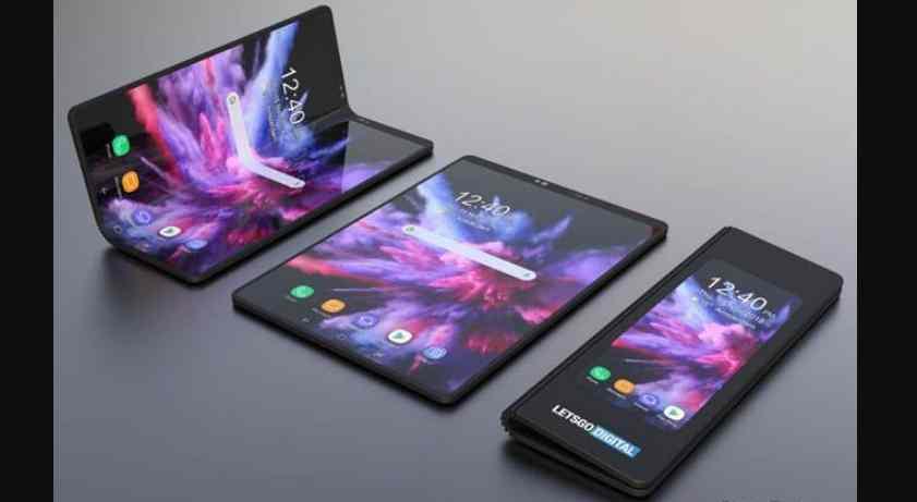 Samsung Pamerkan Smartphone Layar Lipat dengan Speksifikasi Dewa