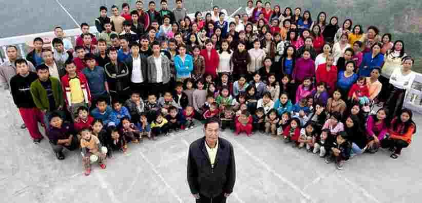 Punya 39 Istri 94 Anak 33 Cucu, Keluarga Hidup Harmonis Dalam 1 Rumah, Bagaimana dengan Anda?