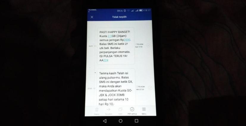 Cara Rahasia Daftar Paket Tri Murah 2.5 GB Rp 2000 Dan 2000 Mb Rp 1500 Terbaru