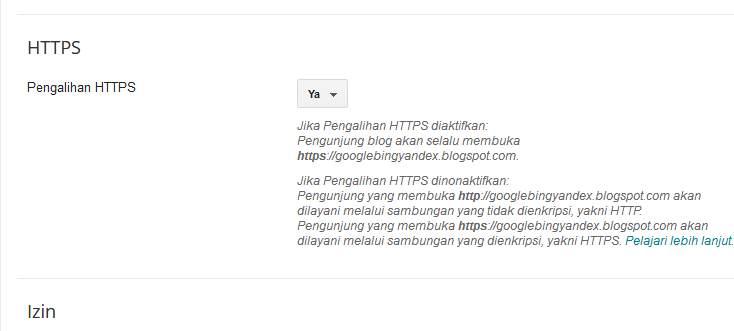 Ganti HTTP Menjadi HTTPS