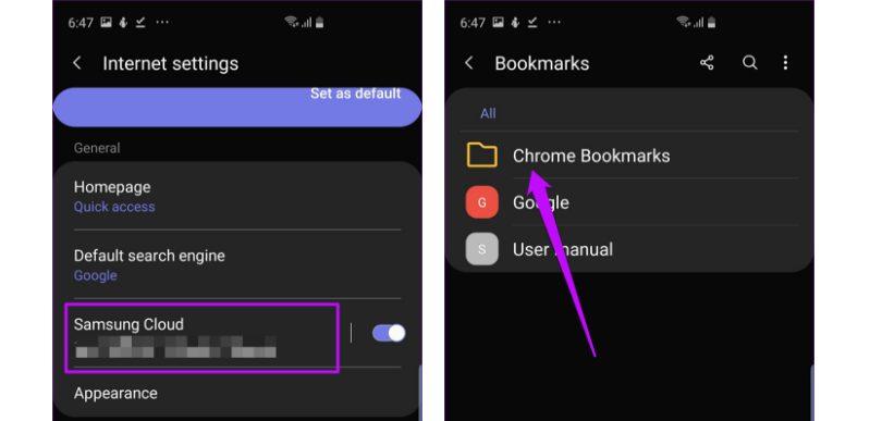 Samsung Internet Vs Google Chrome