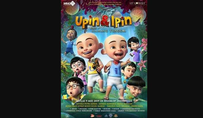 UPIN & IPIN: KERIS SIAMANG TUNGGAL Full HD 4K
