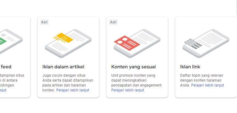 Cara Buat Iklan Link / Tautan Adsense Baru Yang Hilang di Dashboard