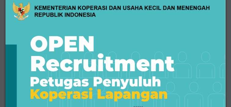 Rekrutmen Petugas Penyuluh Koperasi Lapangan (PPKL) Tahun 2019