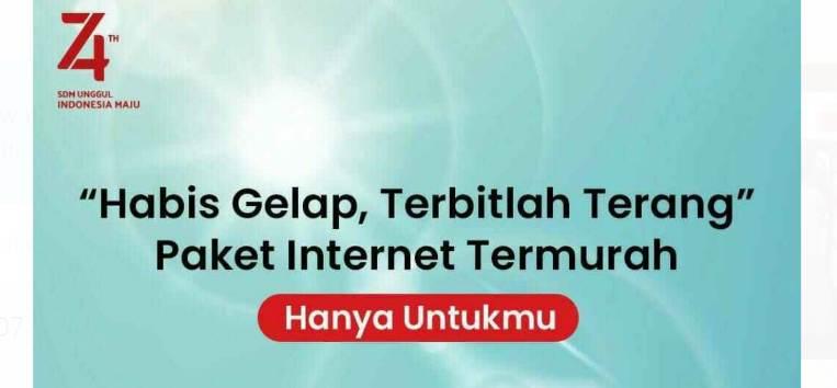 Dial Up Paket Murah Telkomsel 1 Gb Seharga Rp 10, Buruan Daftar Sebelum Ditutup Promonya