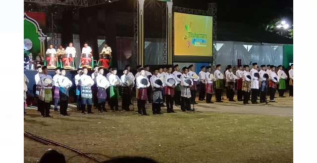 Pembukaan Festival Muharram 1441 H Kabupaten Bondowoso