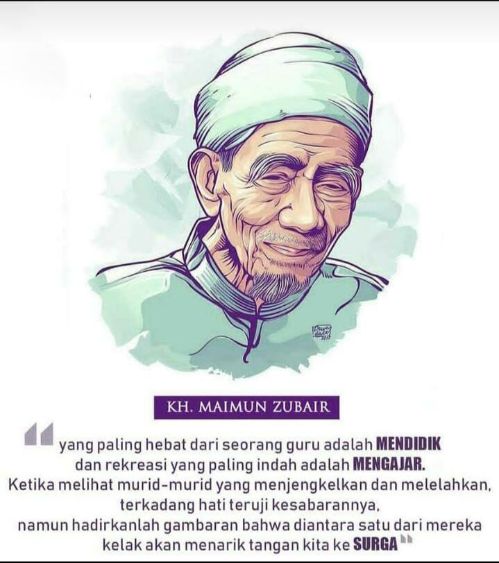 Kata-kata Bijak KH. Maimun Zubair