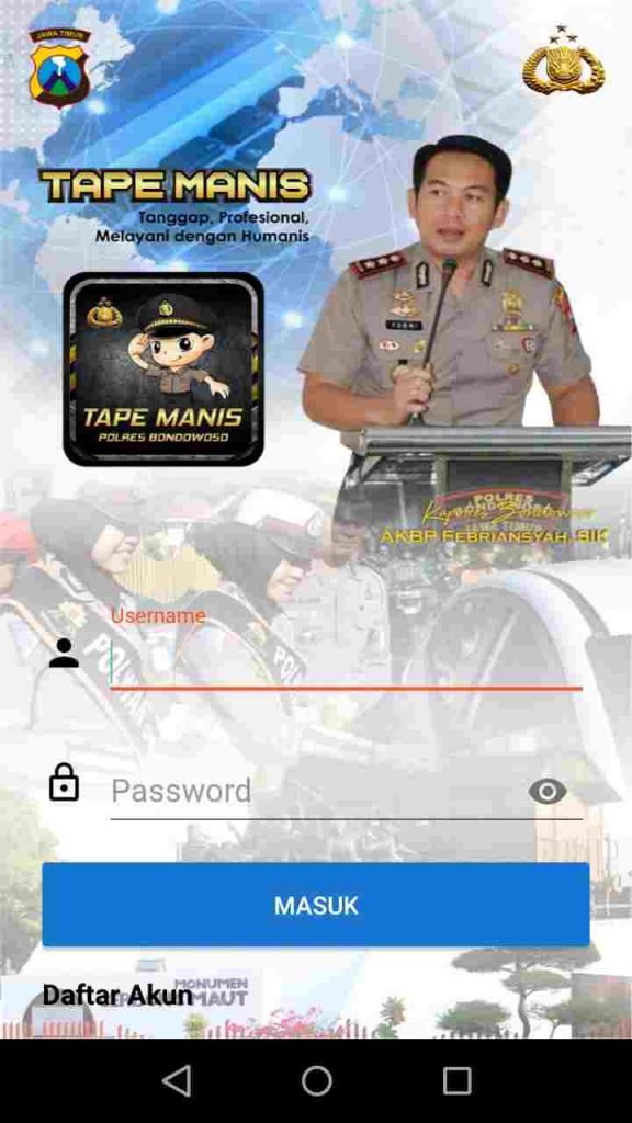 Aplikasi Tape Manis Polres Bondowoso, Masyarakat Terasa Terlindungi oleh Polisi