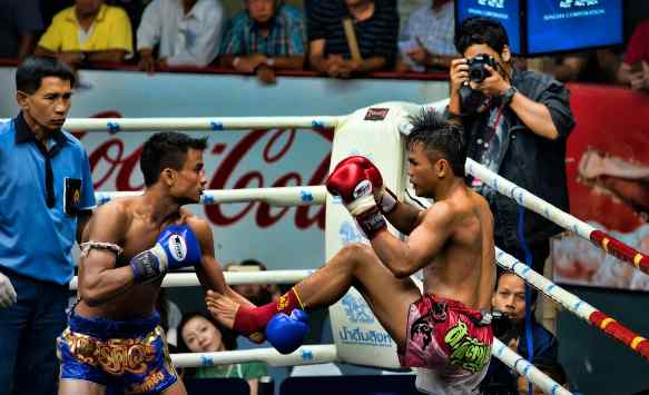 Arena Pertandingan Muay Thai Thailand