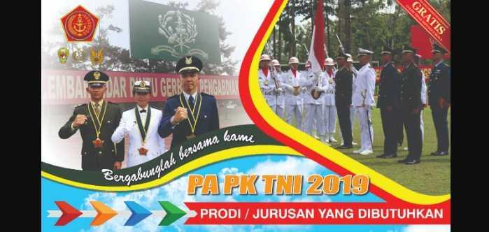 Rekrutmen Calon Perwira Prajurit Karir TNI 2019