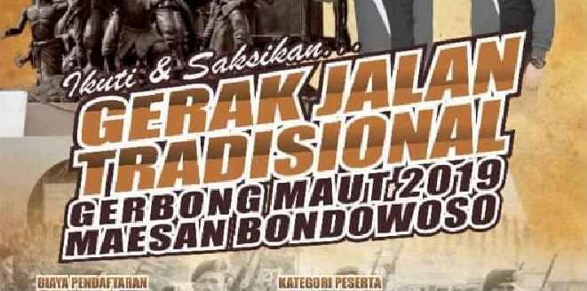 Jadwal Gerak Jalan Tradisional Maesan Bondowoso (MABON) 2019